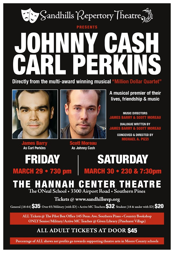 Sandhills Repertory Theater Johnny Cash - Carl Perkins